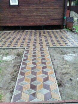 Тротуарная плитка, бордюр - Тротуарной плитки, 0