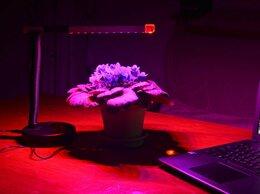 """Аксессуары и средства для ухода за растениями - Настольная лампа """"Мира"""" для растений с питанием…, 0"""