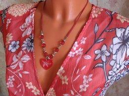 Платья - Летнее платье р.48, украшение в подарок, 0