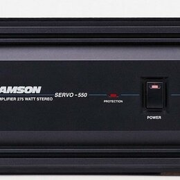 Усилители и ресиверы - Усилитель Samson Servo 550 вт, 0