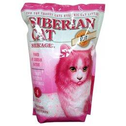 Наполнители для туалетов - Сибирская Кошка Элитный розовые гранулы 8 л, 0