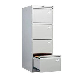 Шкафы для документов - Шкаф картотечный металлический Практик AFC -04, 0