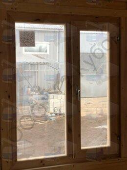 Окна - Окно деревянное, новое. 1000*800. Двухстворчатое, 0