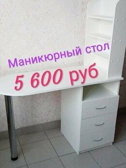 Столы и столики - Маникюрный стол с ящиками и полкой для гель лаков, 0