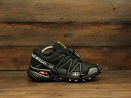 Кроссовки и кеды - Кроссовки Salomon Speedcross 3 black (В501) , 0