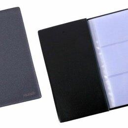 Визитницы и кредитницы - Визитница на  72 карт /3 визитки/ W005-F09-00 Pla.Studio черн блест тв иск кожа , 0