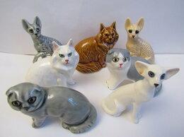 Статуэтки и фигурки - Коты и собаки мини размер авторская керамика…, 0