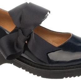 Балетки, туфли - Туфли черные в школу для девочки Betsy, 32 размер, б.у, 0