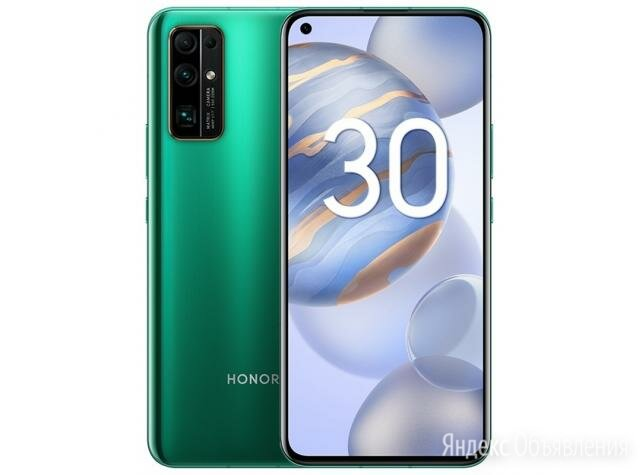 Honor 30 8/128 Green - Новый - Гарантия по цене 28999₽ - Мобильные телефоны, фото 0