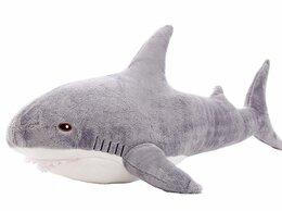 Мягкие игрушки - Мягкая игрушка Акула серая 70 см, 0