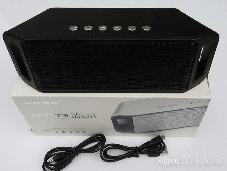 S2024 Беспроводная Bluetooth колонка 10 Ватт по цене 1450₽ - Портативная акустика, фото 0