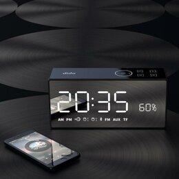 Умные колонки - Колонка часы будильник Х6, 0