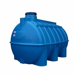 Баки - Ёмкость (бочка) для воды горизонтальная ОГ 2000 Aquaplast , 0