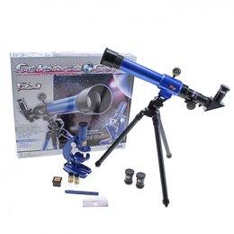 Бинокли и зрительные трубы - Набор обучающий: телескоп настольный, 0