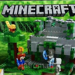 Игровые наборы и фигурки - Конструктор Minecraft My World «Храм в джунглях», 0