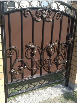 Заборы и ворота - Калитка, дверь, 0