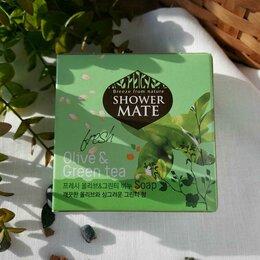 Мыло - Корейское мыло Shower Mate Оливки и зеленый чай , 0