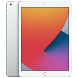 Планшеты - iPad 10.2 (2020) 32G LTE Silver- Новый, 0