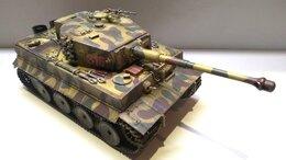 Модели - тигр fust e sd kfz 181 с цеммеритом, 0