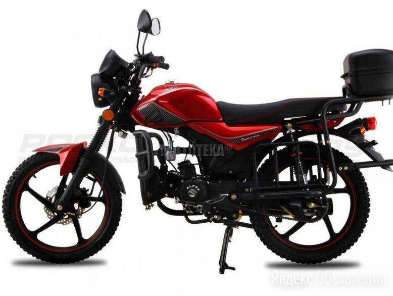 Мопед Rockot Motors (Рокот Моторс) ALPHA (Альфа) TOURIST M - 12 (красный глянце по цене 64150₽ - Мототехника и электровелосипеды, фото 0