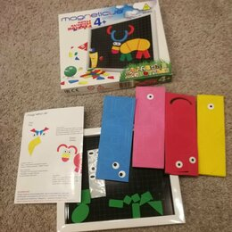 Развивающие игрушки - Мягкая магнитная мозаика magneticus, 0