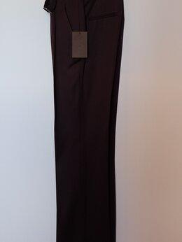 Брюки - Женские брюки, со стрелкой, с высокой посадкой, 0