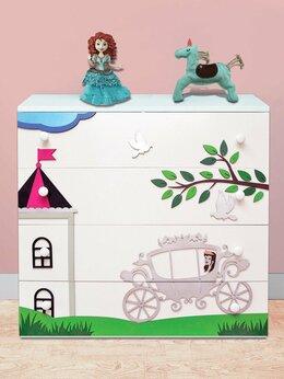 Комоды - Детский комод дизайнерский для девочки, 0