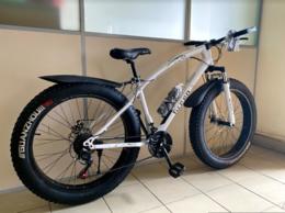 Велосипеды -  Велосипед Фэтбайк GREEN на спицах 26'', 0