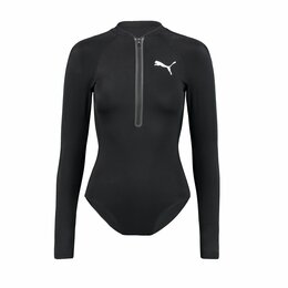 Пляжная одежда - Купальник PUMA Long Sleeve black ж., 0