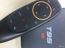 ТВ-приставки и медиаплееры - Смарт тв приставка T95 с голосовым набором, 0