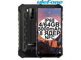 Мобильные телефоны - Новые Ulefone Armor X5 Pro Black IP68 4/64GB NFC, 0