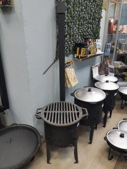 Печи для казанов - Печь стальная 3 мм. для казана в комплекте с…, 0