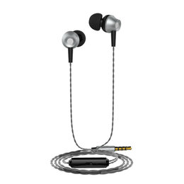 Наушники и Bluetooth-гарнитуры - Наушники Langsdom М299 серебро, 0