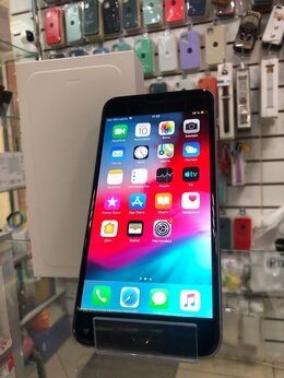 Мобильные телефоны - iPhone 6Plus 128GB Space Gray Ростест б/у, 0