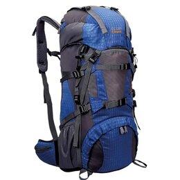 Дорожные и спортивные сумки - Рюкзак ECOS Knight синий 55л, 0