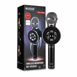 Системы караоке - Караоке микрофон Wster WS-669, 0