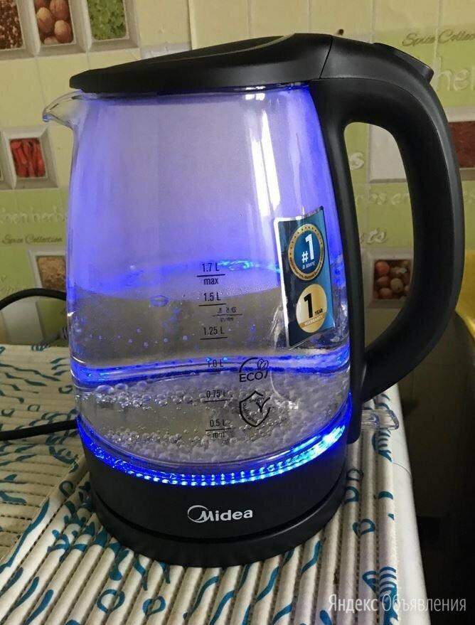 Чайник Midea MK-8015 по цене 1200₽ - Электрочайники и термопоты, фото 0
