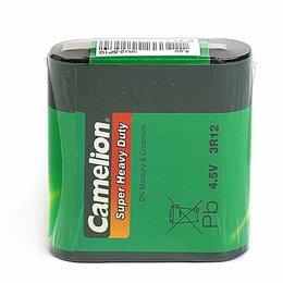 Батарейки - Батарейки Camelion Батарейка солевая квадратная Camelion Super Heavy Dute 3R1..., 0