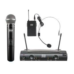 Радиосистемы и радиомикрофоны - XLine MD-262C Радиосистема двухканальная, ручной…, 0