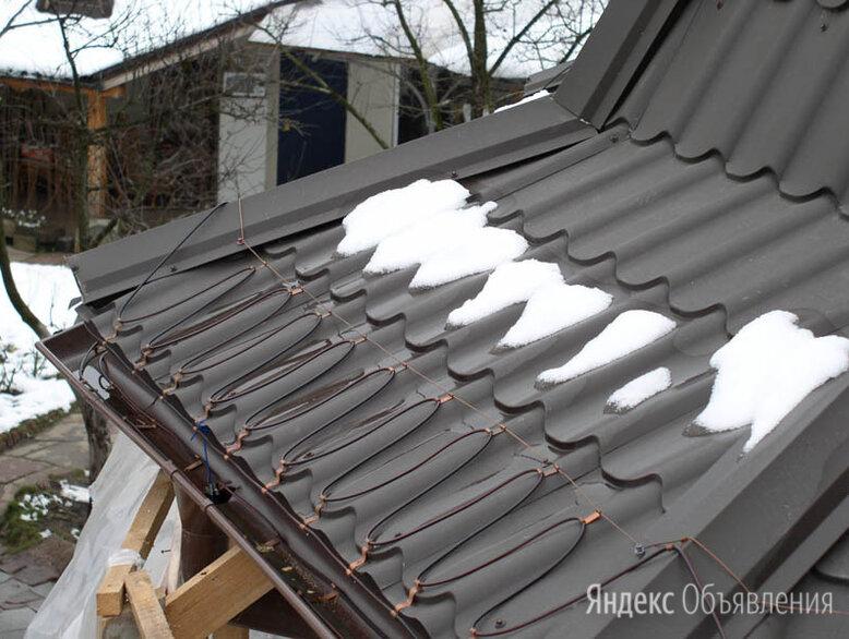 Греющий кабель. Обогрев крыши. Обогрев труб и водостоков. по цене 170₽ - Кабели и провода, фото 0