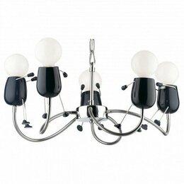 Люстры и потолочные светильники - Детская люстра RIKO BOY Odeon light 2582/5, 0