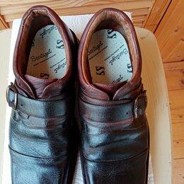 Ботинки - Полуботинки (туфли) мужские кожа натуральная, 0
