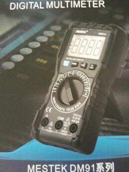 Измерительные инструменты и приборы - Мультиметр Mestek dm 91 a(9999отч.новый), 0