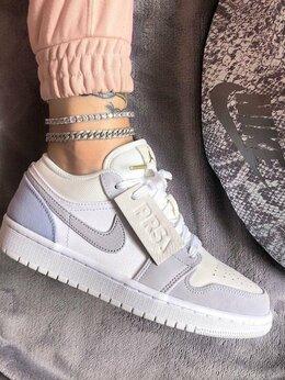 Кроссовки и кеды - Кроссовки Nike Air Jordan 1 Low Grey, 0
