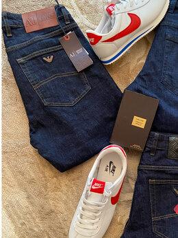 Джинсы - Джинсы мужские новые с 48 до 66, Armani Jeans, 0