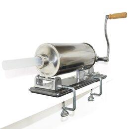 Прочее оборудование - Шприц колбасный на 4 кг горизонтальный, 0