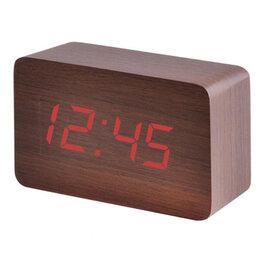 Часы настольные и каминные - Часы электронные 863-1 (красные цифры…, 0
