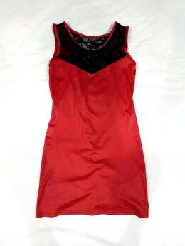 Платья - Новое платье с чёрным кружевом, 0