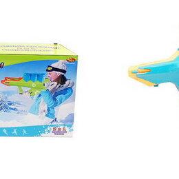 Игрушечное оружие и бластеры - Бластер для снежков из серии Веселые забавы 2 в 1, 2 цвета, Abtoys, PT-00867, 0