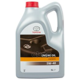 Масла, технические жидкости и химия - Масло Моторное Синтетическое Toyota Engine Oil ..., 0
